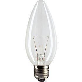Żarówka wysokotemperaturowa 230V E27 25W świeczka C35